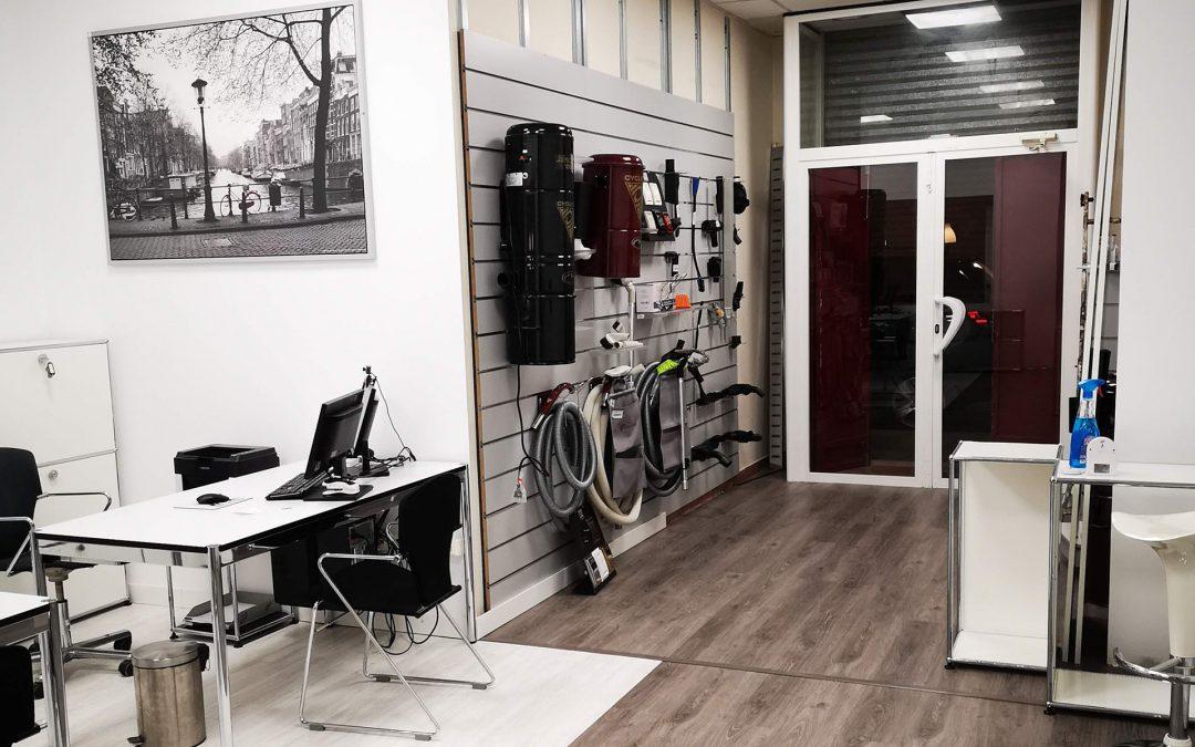 Nuevas oficinas y almacén Cyclo Vac Maral
