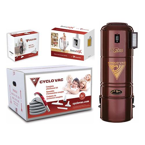 Sección Promociones tienda Cyclo Vac