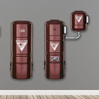 Aspiradores centrales Cyclo Vac