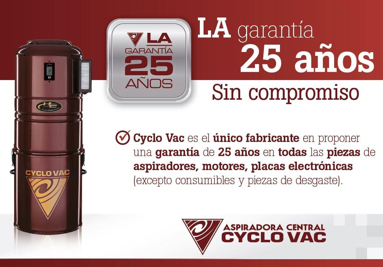 Garantía Cyclo Vac